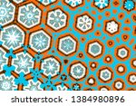 abstract geometric background...   Shutterstock . vector #1384980896