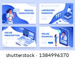 medical concept  banners... | Shutterstock .eps vector #1384996370