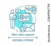 after sales support concept... | Shutterstock .eps vector #1384996739
