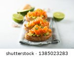 Smoked Salmon Toast With...