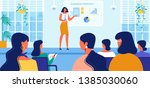 business strategy courses for... | Shutterstock .eps vector #1385030060