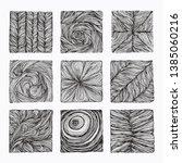 hand drawn braid  wavy linear... | Shutterstock .eps vector #1385060216