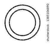 grunge stamp draft mockup of... | Shutterstock .eps vector #1385106890