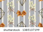 vintage beautiful and trendy...   Shutterstock . vector #1385137199