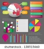 infographic element set | Shutterstock .eps vector #138515660