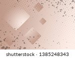 beautiful beige abstract... | Shutterstock . vector #1385248343