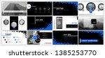 presentation template. elements ... | Shutterstock .eps vector #1385253770