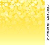 White Bubbles On Yellow...