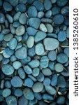 Blue Stones Pattern  Vertical...