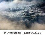 samaba rice terrace fields in... | Shutterstock . vector #1385302193