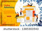 online ads. advertising on...