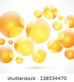 abstract colorful orange... | Shutterstock .eps vector #138534470