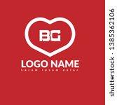 bg company linked letter logo...