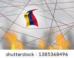 venezuela political crisis and... | Shutterstock . vector #1385368496