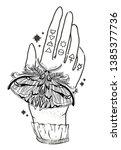 sketch graphic illustration... | Shutterstock .eps vector #1385377736