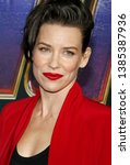 Evangeline Lilly At The World...