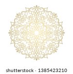vector pattern. ornamental... | Shutterstock .eps vector #1385423210