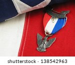 close up of an eagle scout... | Shutterstock . vector #138542963