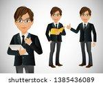 business concept of success ...   Shutterstock .eps vector #1385436089