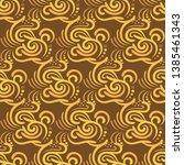 ethnic seamless pattern.... | Shutterstock .eps vector #1385461343