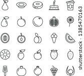 thin line vector icon set  ...   Shutterstock .eps vector #1385470163