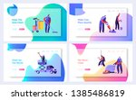 cleaning service website... | Shutterstock .eps vector #1385486819