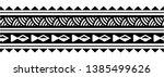 tattoo arm band tattoo hand... | Shutterstock .eps vector #1385499626