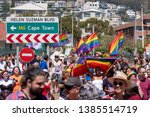 cape town  south africa  march... | Shutterstock . vector #1385514719