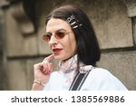 milan  italy   february 23 ...   Shutterstock . vector #1385569886