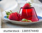 Photo Of Fruit Jelly With Fres...