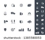 business management  training ... | Shutterstock .eps vector #1385580053