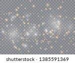 Light Glow Effect Stars. Vecto...
