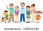 happy family | Shutterstock . vector #138564140