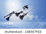 digital illustration of...   Shutterstock . vector #138567923
