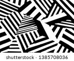 abstract black and white lines... | Shutterstock .eps vector #1385708036