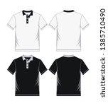 Men\'s Polo Shirt Template ...
