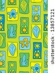 floral pattern | Shutterstock .eps vector #13857121