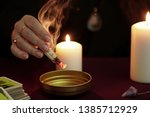 Witch Is Fortune Teller In...