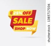 vector sale banner template...   Shutterstock .eps vector #1385717036