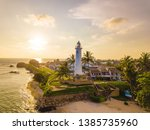Lighthouse From Galle Town In...