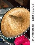handcrafted artisan mexican... | Shutterstock . vector #1385761736