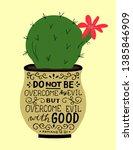 hand lettering but overcome... | Shutterstock .eps vector #1385846909