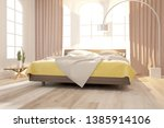 modern bedroom interior design. ... | Shutterstock . vector #1385914106