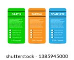 product and service three... | Shutterstock .eps vector #1385945000