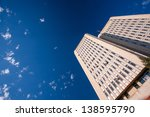 the sky and skyscraper | Shutterstock . vector #138595790