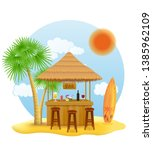 Beach Stall Bar For Summer...