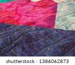 Multicolored Batik Fabric...