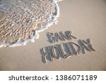 bank holiday message... | Shutterstock . vector #1386071189