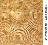 Close Up Wooden Cut Texture