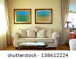 luxury living room interior | Shutterstock . vector #138612224
